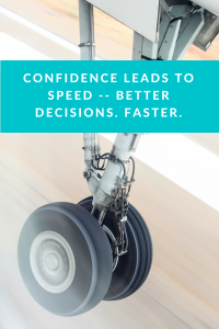 Confidence leads to speed-2
