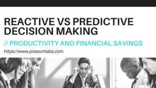 Playing with Time to Save Money: Reactive vs Predictive DecisionMaking